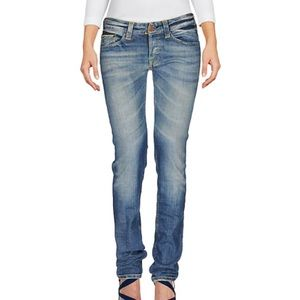 CARE LABEL skinny distressed jeans, NWT